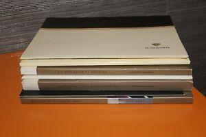 (MC1B) Gros lot catalogues brochures MAYBACH Daimler Chrysler Dossiers Presse