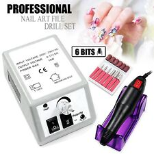 Professional Acrylic Electric Nail Art Drill File Manicure Pedicure Polish Tool
