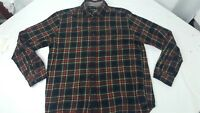 Eddie Bauer Long Sleeve Men's Large Thick Button Up Shirt
