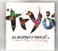 2 CD ALBUM--TRYO--DE BOUCHES A OREILLES / LIVE OLYMPIA & LIVE CABARET SAUVAGE