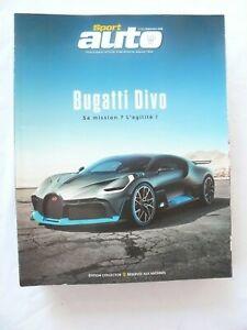 SPORT AUTO N°680 BUGATTI DIVO