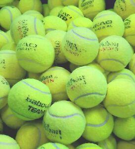 15 or 30 Used Tennis Balls. Wilson, Slazenger, Dunlop Etc. EXCELLENT CONDITION