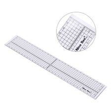 Quilting Sewing Patchwork Foot Aligned Ruler Grid Cutting Edge Tailor Tool