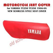 3f45728551f Yamaha Tt250 Tt 250 Tt350 Tt 350 1986-88 sin Costuras Rojo Seat Cubierta Con