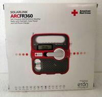 Eton ARCFR360R Solarlink Self-Powered Digital AM/FM/NOAA Radio with Solar Power