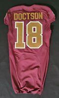 #18 Josh Doctson of Washington Redskins NFL Alternate Game Issued Jersey