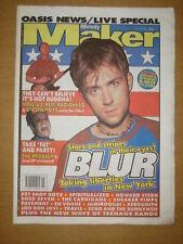MELODY MAKER 1997 JUN 21 BLUR OASIS U2 REM RADIOHEAD