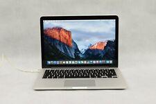 Apple MacBook Pro Retina 13 pollici Schermo inizio del 2015 modello A1502 nessun hard disk