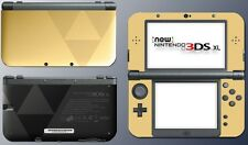 Zelda Hyrule Gold Black Special Triforce Game Skin Decal New Nintendo 3DS XL