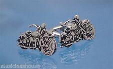 MOTORBIKE MOTORCYCLE HOG HARLEY DAVIDSON CUFFLINKS BIKER BIRTHDAY PRESENT Rider