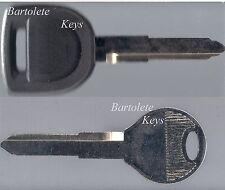 Replacement Transponder Key Blank Fits 2011 2012 2013 Mazda 3 6 MX5 Miata *