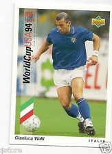 Rare UD USA WC '94 Trading Card OF ITALY GIANLUCA VIALLI IN NM/M IN SPANISH + IT