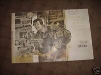 1979 FORD FIESTA Electrical Troubleshooting Wiring Service Shop Repair Manual