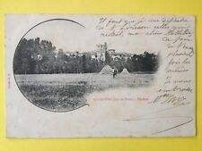 cpa de 1903 Auvergne COURPIÈRE Puy de Dôme Paysage Champêtre Meules Foin