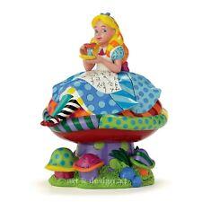 Alice dans Pays des Merveilles Déclaration Romero Britto Sculpture Enesco Disney