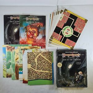 Dragon Lance Time Of The Dragon Complete Boxed Set - AD&D 2nd Edition