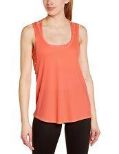 Hurley Donna Top T-shirt Bh Dri-Fit serbatoio Peach Crema Potere Web, L