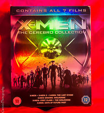 X-MEN CEREBRO COMPLETE COLLECTION - 7 FILMS  ***BRAND NEW BLU-RAY BOXSET**