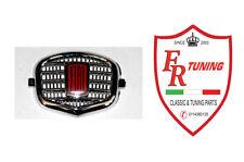 FREGIO ANTERIORE CENTRALE IN PLASTICA CROMATA FIAT 500 N/D