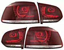 DEPO LED rot Rückleuchte Heckleuchtensatz für VW Golf Mk6 2008-2012