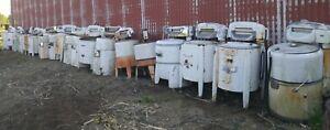 Collection Of 29 Antique Wringer Washing Machines Vintage Ringer Washer Machine