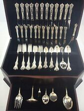 Old Colonial by Towle Sterling Silver Flatware Set Service 80 Pieces