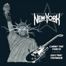 NEW YORK-Carry The Torch/Electric Thunder CD Dokken,Ratt,KISS,Odin,Rare,Private