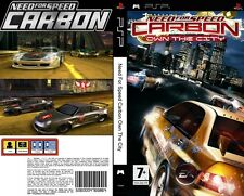 Need For Speed Carbon Own The City Sony PSP Brand New