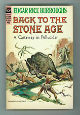 BACK TO THE STONE AGE 7.0 EDGAR RICE BURROUGHS ACE-F-245 OW PGS 1963