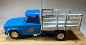 Vintage 1960s Tonka Pressed Steel Stake Dump Farm Truck! #52110, Mound Minn USA