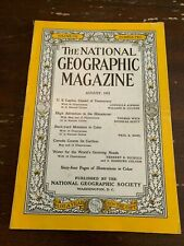 1952 National Geographic Magazine US Capitol Citadel Of Democracy