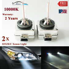 2 PCS D3S 10000K XenStart Xenon Headlight HID Bulb 9285 335 244 35W Unused Light