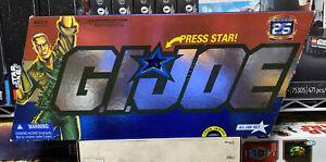 "GI Joe 25th ANNIVERSARY GI Joe Set 5-Pack Box Set 3.75"" Figures NEW 2007"