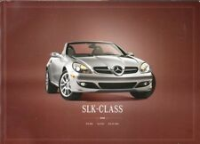 2008 08 Mercedes Benz SLK Class original  brochure