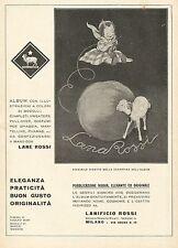 Y1240 Lane ROSSI - Illustrazione - Pubblicità 1931 - Advertising