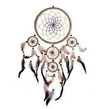 Traumfänger 35 X 60 Cm Dreamcatcher Indianer mit Farbigem Netz und Verschiedenf
