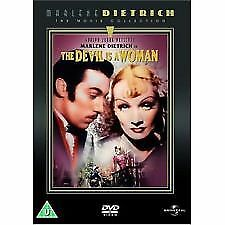 THE DEVIL IS A WOMAN   (Marlene Dietrich, Lionel Atwill, Cesar Romero) DVD