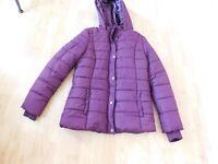 Women's Rampage Coat - Purple/Wine Colored - Size XL - Return - Good Condition