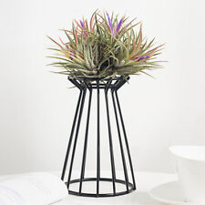 Flower Iron Frame Stand Plant Display Rack Holder Planter Pot Decor Adornment
