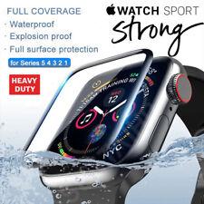 Pellicola CURVO 6D per VETRO Apple Watch 6 5 4 3 2 44 42 40 38 Protezione Totale