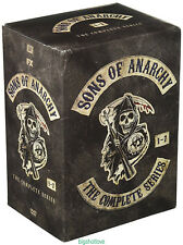DVD Sons of Anarchy: The Complete Series Seasons 1-7  (30 DVD Box Set) New seal