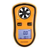Digital Anemometer Wind Speed Meter 30m/s LCD Hand-held Thermometer Meter