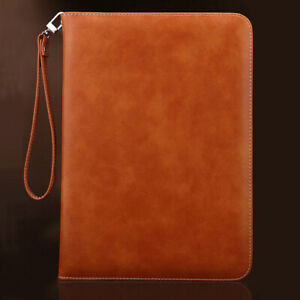 Genuine Luxury Leather Case Cover for iPad 9.7 10.2 10.5 11 12.9 in Pro Air Mini