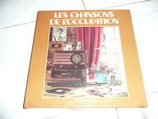 """COFFRET 9 X 33 T LES CHANSONS DE L'OCCUPATION Vinyles LP 12"""" LIBERATION DE PARIS"""