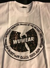Wu-Tang /Wu Wear T-shirt Thick Extremely Rare. JAPAN