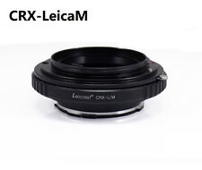 Leicaist Contarex CRX Lens to Leica M LM Mount Adapter M9 with TECHART LM-EA7