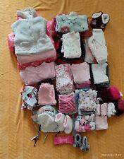 Baby Bekleidung Paket Mädchen 62/68,74 Sommer,Herbst,Winter, 97 Teile