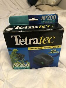 Tetratec Air Pump 200 for Deep Water Applications up to 200 Liters Brand New!!
