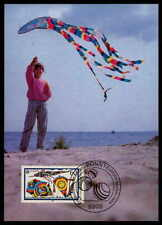 GERMANY MK 1989 EUROPA CEPT KITE HANG-GLIDE CARTE MAXIMUM CARD MC CM df73