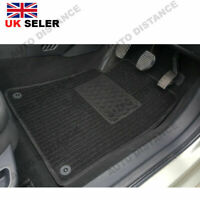 Seat Alhambra Tailored Quality Black Carpet Car Mats With Heel Pad 2010 - 2018